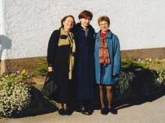 Trénink u prof. Lozanova: Viktorsberg, Rakousko, 2000.